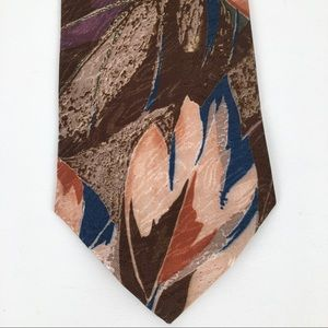 Bobzien's clothing district abstract patterned tie
